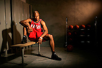 Jarrett Jack, Portland TrailBlazers.Photo by Chris Covatta