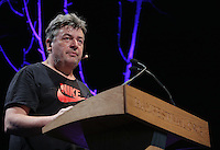 Hay on Wye. Friday 03 June 2016<br /> David Aaronovich at the Hay Festival, Hay on Wye, Wales, UK