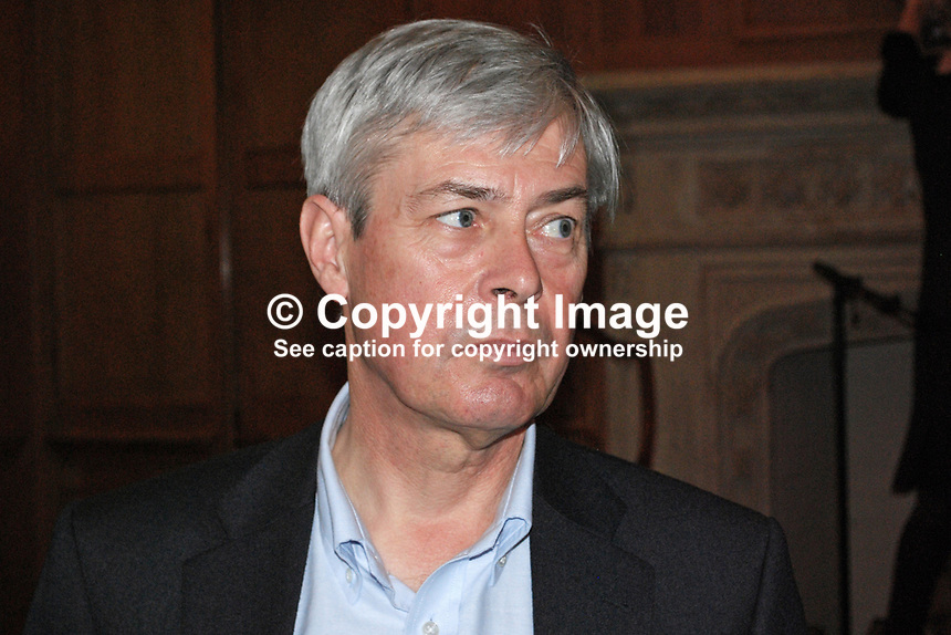 Peter Bowler, Professor, History of Science, Queen's University, Belfast, N Ireland, UK, 200903112014..Copyright Image from Victor Patterson, 54 Dorchester Park, Belfast, UK, BT9 6RJ..Tel: +44 28 9066 1296.Mob: +44 7802 353836.Voicemail +44 20 8816 7153.Skype: victorpattersonbelfast.Email: victorpatterson@mac.com.Email: victorpatterson@ireland.com (back-up)..IMPORTANT: If you wish to use this image or any other of my images please go to www.victorpatterson.com and click on the Terms & Conditions. Then contact me by email or phone with the reference number(s) of the image(s) concerned.