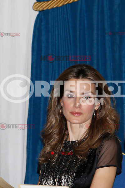 Princess Letizia of Spain attend the 'Francisco Cerecedo Journalism Award' ceremony at the Ritz Hotel in Madrid. November 20, 2012. (ALTERPHOTOS/Caro Marin) /NortePhoto