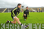 Anthony Maher at the Kerry Senior Football Team Media day at Fitzgerald Stadium on Saturday.
