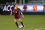 07 November 2008: Boston College's Hannah Cerrone. The University of North Carolina Tarheels defeated Boston College Eagles 2-0  at WakeMed Stadium at WakeMed Soccer Park in Cary, NC in a women's ACC tournament semifinal game.