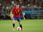 Spain's Saul Niguez in action during the UEFA Under 21 Final at the Stadion Cracovia in Krakow. Picture date 30th June 2017. Picture credit should read: David Klein/Sportimage