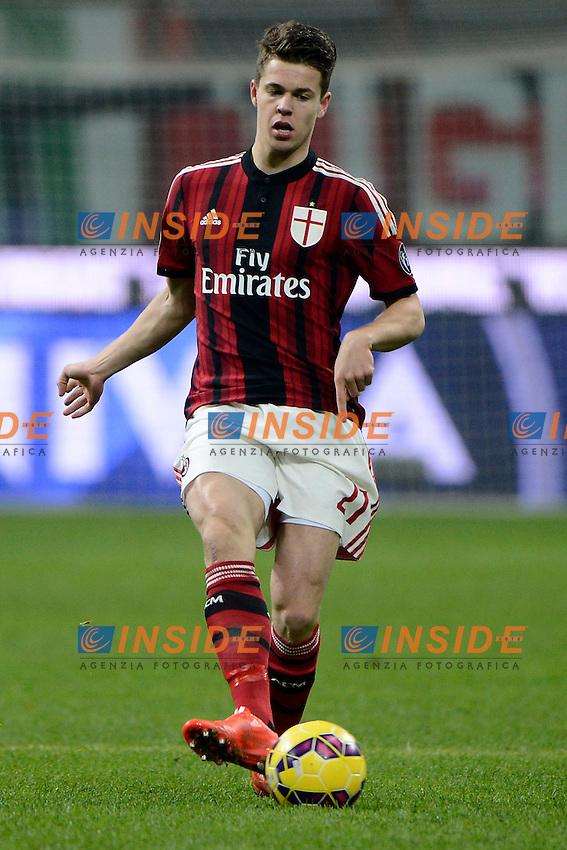 Van Ginkel Marco Milan<br /> Milano 27-01-2015 Stadio Giuseppe Meazza - Football Calcio Coppa Italia Milan - Lazio. Foto Giuseppe Celeste / Insidefoto
