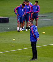 BOGOTA, COLOMBIA - JUNE 6: Colombia's national soccer coach Carlos Queiroz during a training session of the national soccer team on June 6, 2019 in Bogota, Colombia. Colombia will face Peru on Sunday before they start their Copa America campaign where the team will face Argentina, Paraguay and Qatar on their first stage of the Copa America Brazil 2019. (Photo by VIEWPRESS/Leonardo Muñoz)