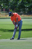 Jon Rahm (ESP) hits his approach shot on 9 during round 3 of the WGC FedEx St. Jude Invitational, TPC Southwind, Memphis, Tennessee, USA. 7/27/2019.<br /> Picture Ken Murray / Golffile.ie<br /> <br /> All photo usage must carry mandatory copyright credit (© Golffile | Ken Murray)