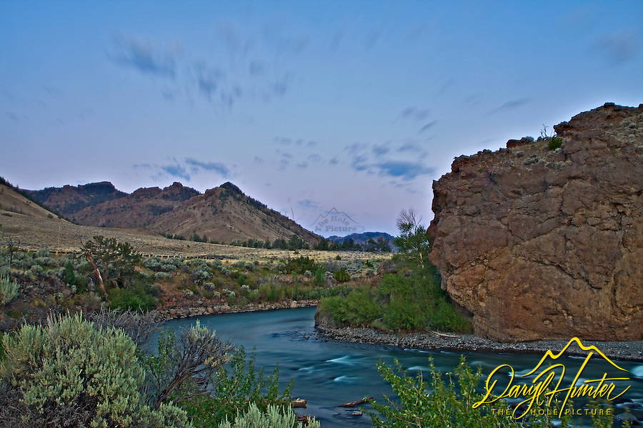 Sunrise, Norh Fork Shoshone River, Abasoraka Mountains,  Cody Wyoming