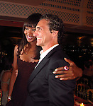 Laurence Bender and Naomi Campbell..2011 Cannes Film Festival..Eden Roc Restaurant at Hotel Du Cap..Cap D'Antibes, France..Tuesday, May 17, 2011..Photo By CelebrityVibe.com..To license this image please call (212) 410 5354; or.Email: CelebrityVibe@gmail.com ;.website: www.CelebrityVibe.com