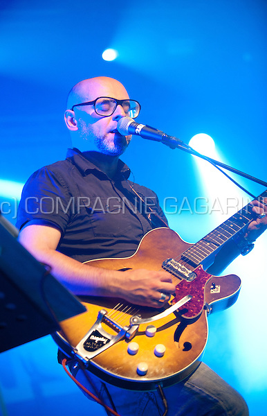 Concert of the Belgian post-rock band Marble Sounds at the Woosha festival, in Ostend (Belgium, 19/07/2014)