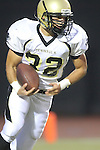 Beverly Hills, CA 09/23/11 - Ryan Sawelson (Peninsula #32) in action during the Peninsula-Beverly Hills Varsity football game.