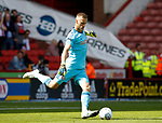 Daniel Bentley of Brentford during the English Championship League match at Bramall Lane Stadium, Sheffield. Picture date: August 5th 2017. Pic credit should read: Simon Bellis/Sportimage