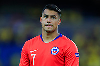 PEREIRA, COLOMBIA - JANUARY 18: Chile's Ivan Morales during their CONMEBOL Preolimpico soccer game against Ecuador at the Hernan Ramirez Villegas Stadium on January 18, 2020 in Pereira, Colombia. (Photo by Daniel Munoz/VIEW press/Getty Images)