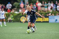 Allston, MA - Sunday July 17, 2016: Stephanie Verdoia, Sarah Killion during a regular season National Women's Soccer League (NWSL) match between the Boston Breakers and Sky Blue FC at Jordan Field.