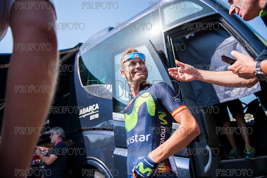 Castellon, SPAIN - SEPTEMBER 7: Jose Joaquin during LA Vuelta 2016 on September 7, 2016 in Castellon, Spain