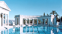 Hearst Castle: Neptune Pool.  (Finley-Holiday Films)