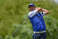 Padraig Harrington (IRL) watches his tee shot on 4 during round 4 of the AT&T Byron Nelson, Trinity Forest Golf Club, Dallas, Texas, USA. 5/12/2019.<br /> Picture: Golffile   Ken Murray<br /> <br /> <br /> All photo usage must carry mandatory copyright credit (© Golffile   Ken Murray)