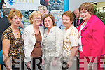Pictured at the official launch of the gokerry.ie website on Friday in IT Tralee, from left: Angela Kelliher (Killorglin), Dorothy Lynch (Killorglin), Dorothy Moynihan (Killorglin), Dorothea Stephens (Killorglin) and Sheila O?Donoghue (Killarney)..