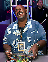 SAN DIEGO COMIC-CON© 2019:  20th Century Fox Television's AMERICAN DAD Cast Member Kevin Michael Richardson during the AMERICAN DAD booth signing on Saturday, July 20 at the SAN DIEGO COMIC-CON© 2019. CR: Alan Hess/20th Century Fox Television