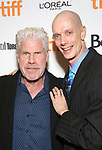 Ron Perlman and Doug Jones attends 'The Shape of Water' premiere during the 2017 Toronto International Film Festival at The Elgin on September 11, 2017 in Toronto, Canada.
