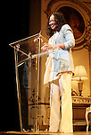 Crystal A. Dickinson.during the 68th Annual Theatre World Awards at the Belasco Theatre  in New York City on June 5, 2012.