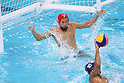Katsuyuki Tanamura (JPN), <br /> AUGUST 8, 2016- Water Polo : <br /> Men's Preliminary Round group A<br /> match between Japan - Brazil <br /> at Maria Lenk Aquatic Centre <br /> during the Rio 2016 Olympic Games in Rio de Janeiro, Brazil. <br /> (Photo by Yohei Osada/AFLO SPORT)