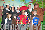IT'S PANTO TIME: Cast members of Robin Hood and the Singing Nun this years panto by Castlegregory Community Council are ready to take to the stage. From front l-r were: Blathnaid O'Toole, Carrie Dowling and David Sheehan. Back l-r were: Carol Lynch, Susan Hogan, Rosemary Smyth, Enda Whelan and John Joyce.