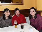 Claire McDonnell, Noleen Whelan and Joan Jordan at the MS fundraiser in the Valley Inn. Photo:Colin Bell/pressphotos.ie