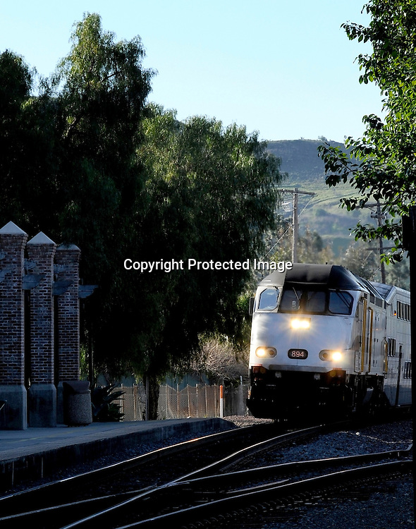Commuter Rail Stock Photos