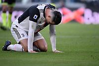 Cristiano Ronaldo of Juventus dejection <br /> Torino 6-1-2020 Juventus Stadium <br /> Football Serie A 2019/2020 <br /> Juventus FC - Cagliari Calcio <br /> Photo Federico Tardito / Insidefoto
