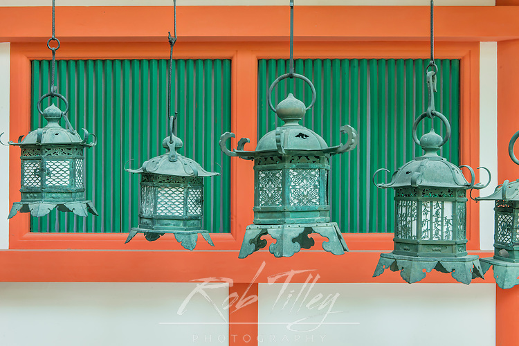 Japan, Nara, Kasuga Shrine Lanterns