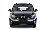 Car photography straight front view of a 2015 Mercedes Benz Citan 109 Cdi 5 Places 5 Door Passenger Van Front View