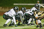 Torrance, CA 11/22/13 - Jaspreet Singh (Palmdale #79) and Isaac Vaughn (Palmdale #55) in action during the Palmdale-West Torrance CIF Northern Division quarterfinal game.  West Torrance defeated Palmdale 17-14.