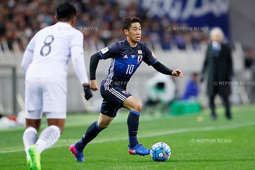 Shinji Kagawa (JPN), <br /> MARCH 28, 2017 - Football / Soccer : <br /> FIFA World Cup Russia 2018 Asian Qualifier <br /> Final Round Group B <br /> between Japan 4-0 Thailand <br /> at Saitama Stadium 2002, Saitama, Japan. <br /> (Photo by Yohei Osada/AFLO)
