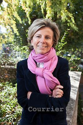 Genève, le 14.10.2009.Mme. Isabelle Rochat partis libéral.© Le Courrier / J.-P. Di Silvestro