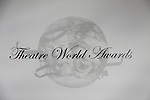 Logo - The 68th Annual Theatre World Awards 2012 presented to 12 actors for their Outstanding Broadway or Off-Broadway Debut Performances during the 2011-2012 theatrical season on June 5, 2012 at the Belasco Theatre, New York City, New York.