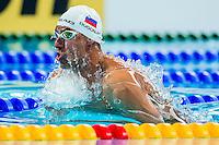 DUGONJIC Damir SLO<br /> 50 Breaststroke Men Heats World Record<br /> Swimming - Kazan Arena<br /> Day12 04/08/2015<br /> XVI FINA World Championships Aquatics Swimming<br /> Kazan Tatarstan RUS July 24 - Aug. 9 2015 <br /> Photo A.Masini/Deepbluemedia/Insidefoto
