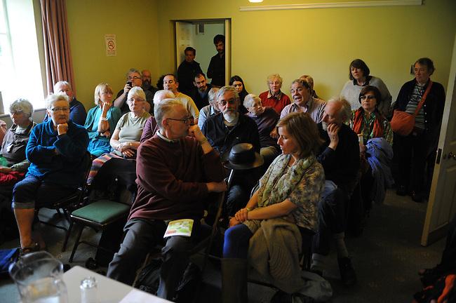 El Sueno Existe Festival<br /> Machynlleth<br /> Wales<br /> Cultural Workshop;<br /> Pablo Neruda and Victor Jara: Two Chilean Visionaries.<br /> Members of the audience.