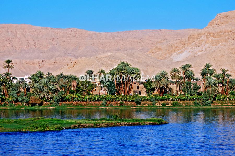 Agricultura no Vale do Rio Nilo. Luxor. Egito. 2010. Foto de Vinicius Romanini.