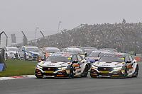 2019 British Touring Car Championship. Race one start.