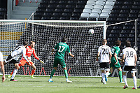 18th July 2020; Craven Cottage, London, England; English Championship Football, Fulham versus Sheffield Wednesday; Jacob Murphy of Sheffield Wednesday scores for 4-3 in the 89th minute