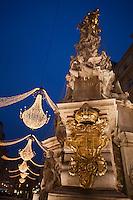 Europe/Autriche/Niederösterreich/Vienne: La colonne de la Peste sur le Graben, Pestsäule