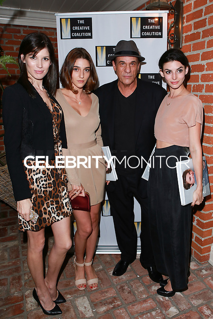 LOS ANGELES, CA, USA - OCTOBER 21: Robert Davi arrive at The Creative Coalition's 'Art of Discovery' Los Angeles Launch Party held at the Home of Lawrence Bender on October 21, 2014 in Los Angeles, California, United States. (Photo by David Acosta/Celebrity Monitor)