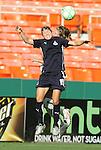 18 July 2009: Washington's Rebecca Moros. The Washington Freedom defeated Saint Louis Athletica 1-0 at the RFK Stadium in Washington, DC in a regular season Women's Professional Soccer game.