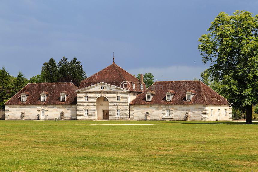 France, Doubs (25), Arc-et-Senans, saline royale d'Arc-et-Senans, classé patrimoine mondial de l'UNESCO // France, Doubs, Arc et Senans, Royal Saltworks at Arc et Senans, listed as World Heritage by UNESCO