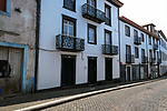 Street scenes in Ponta Delgada, Sao Miguel, Portugal, the target island in the Azores.