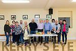 Pictured at the Wind Farm Public meeting at the Parish Hall, Ballylongford on Sunday were Andrea Taylor, Maura O'Sullivan, Helen O'Connor, Nelius O'Connor, Jerry Mason, Sophie Taylor, Brian Finucane, John O'Sullivan, Tony Dowd.