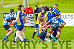 Rugby action from Tralee v Douglas Carrigaline in the Division 3 of Munster Junior Cup in O'Dowd Park on Sunday.