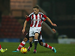 Regan Slater of Sheffield Utd  during the Checkatrade Trophy match at Blundell Park Stadium, Grimsby. Picture date: November 9th, 2016. Pic Simon Bellis/Sportimage