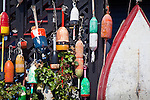 Lobster gear at Cape Porpoise, Kennebunk, ME
