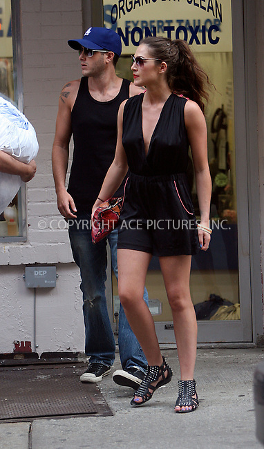 WWW.ACEPIXS.COM . . . . .  ....July 12 2010, New York City....'The City' star Roxy Olin seen walking around Soho with her boyfriend on July 12 2010 in New York City....Please byline: NANCY RIVERA- ACEPIXS.COM.... *** ***..Ace Pictures, Inc:  ..Tel: 646 769 0430..e-mail: info@acepixs.com..web: http://www.acepixs.com